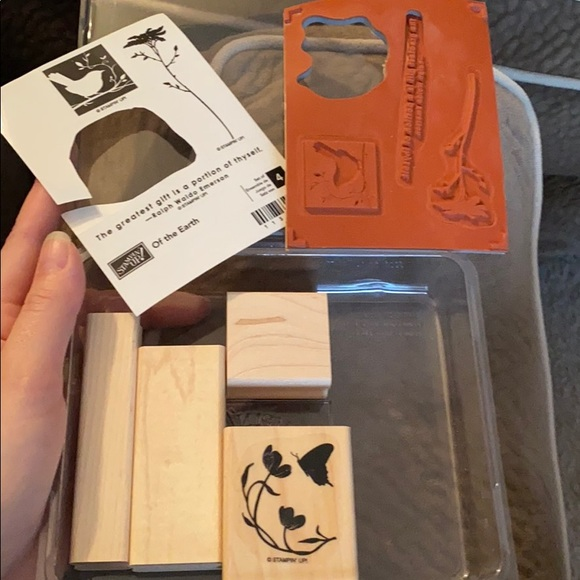 EUC Stampin Up 'Of the Earth'